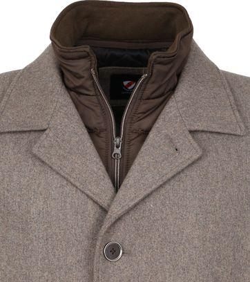 Suitable Geke Coat Bruin