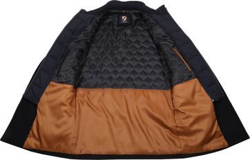 Suitable Geke Coat Dunkelblau