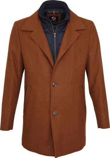 Suitable Geke Coat Karamel