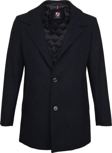Suitable Geke Coat Navy