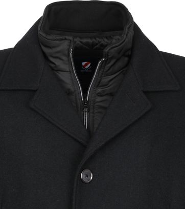 Suitable Geke Coat Schwarz
