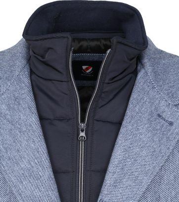 Suitable Geke Coat Streep Blauw