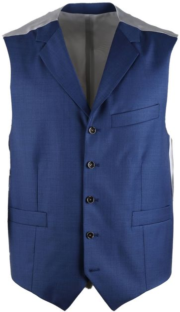 Suitable Gilet Evans Blauw