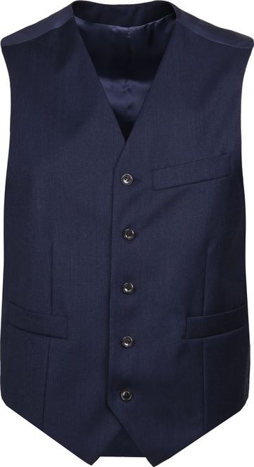 Suitable Gilet Evans Navy