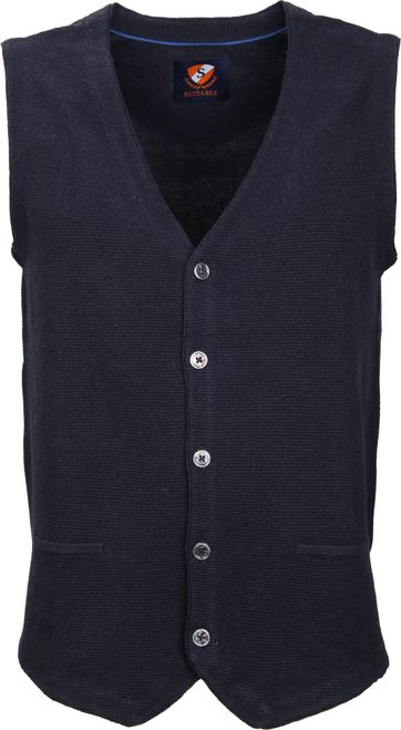 Suitable Gilet Gert Navy
