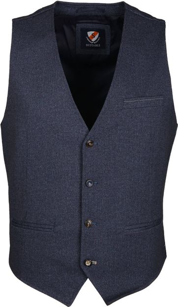 Suitable Gilet Jersey Indigo