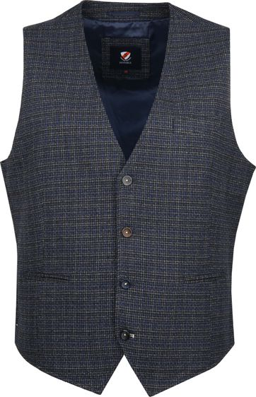 Suitable Gilet Kris Donkerblauw