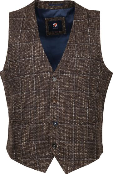 Suitable Gilet Kris Rust