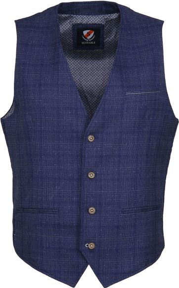 Suitable Gilet Kris Serres Navy