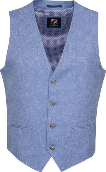 Suitable Gilet Kris Tolo Light Blue