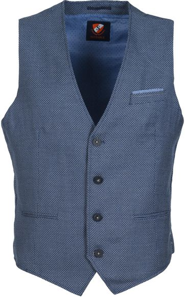 Suitable Gilet Vias Navy