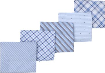 Suitable Hanky Handkerchief Light Blue