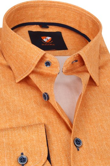 Suitable Hemd 224-4 Oranje