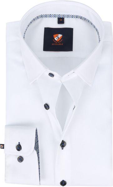 Suitable Hemd 227-1 Non-Iron Weiß