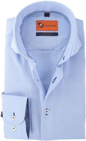 Suitable Hemd Blau 146-6