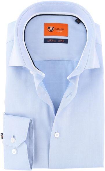 Suitable Hemd Blau DR-04