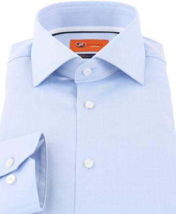 Suitable Hemd Blauw DR-04