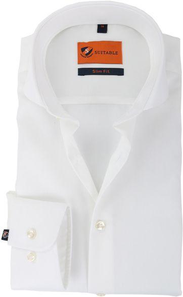 Suitable Hemd Bügelfrei Weiß