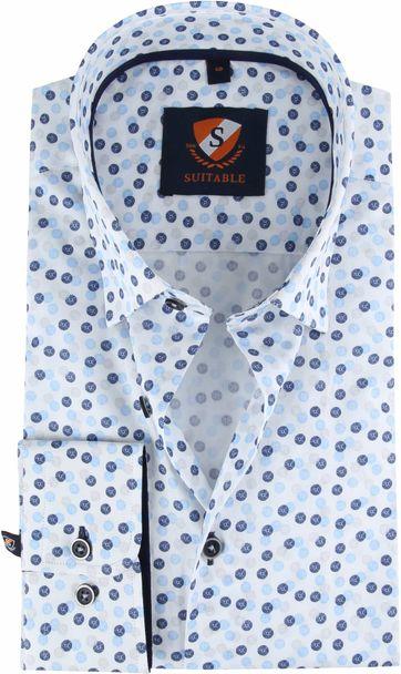 Suitable Hemd Dandelion Blauw