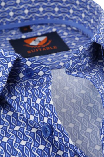 Suitable Hemd HBD Blauw