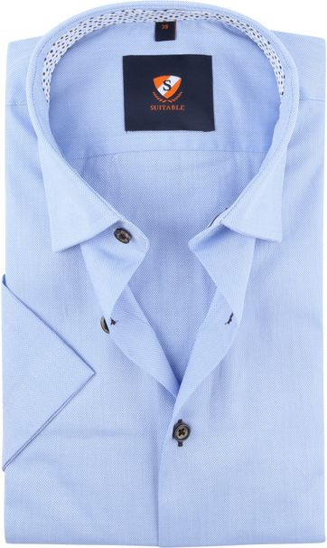 Suitable Hemd Lichtblauw