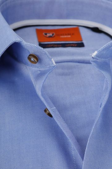 Suitable Hemd Oxford Roy Blau