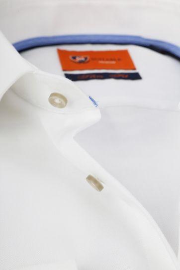 Suitable Hemd Oxford Roy Weiß