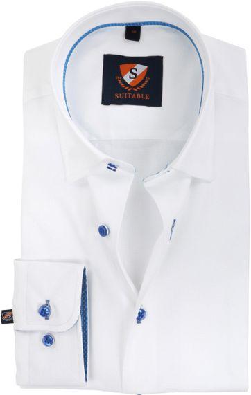 Suitable Hemd Oxford Weiß SF