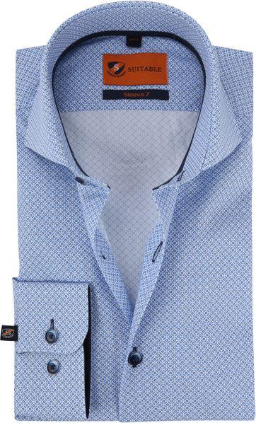 Suitable Hemd SL7 Blau