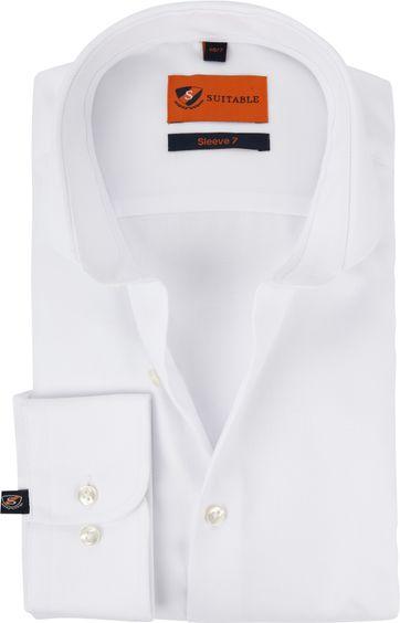 Suitable Hemd SL7 Weiß 180