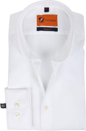 Suitable Hemd SL7 Weiß 180-1