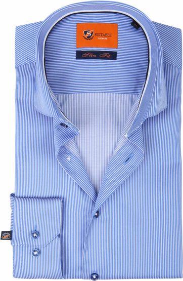 Suitable Hemd Streifen D82-02