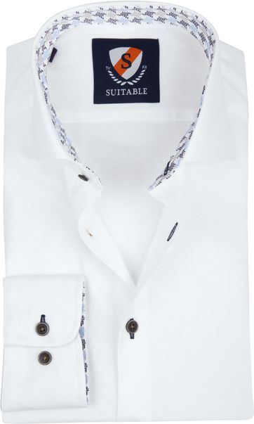 Suitable Hemd TF Oxford Weiß