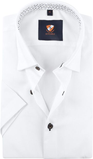 Suitable Hemd Weiß