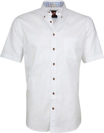 Suitable Hemd Wolf Weiß