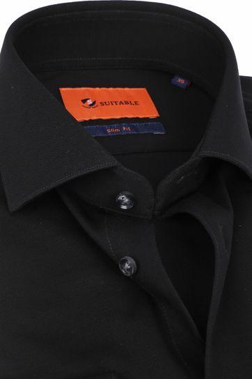 Suitable Hemd WS KN11 Zwart