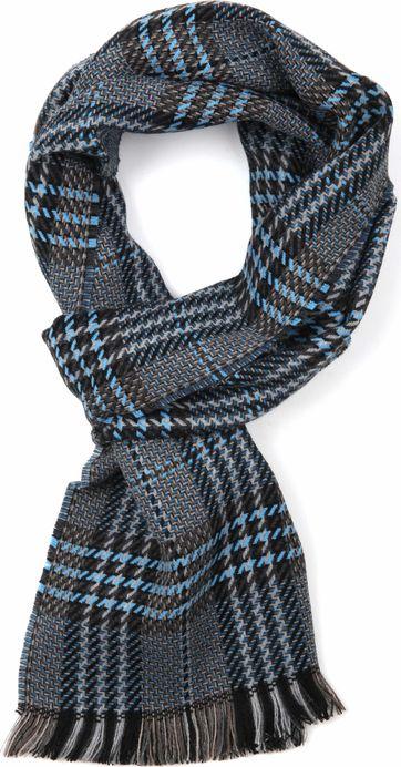 suitable heren sjaal blauw 18-11 winter shawl s18-11 online