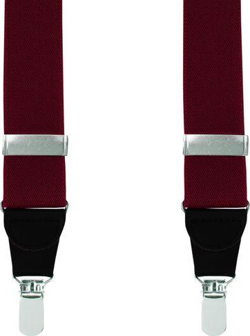Suitable Hosenträger Bordeaux Uni