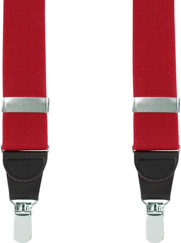 Suitable Hosenträger Rot Uni