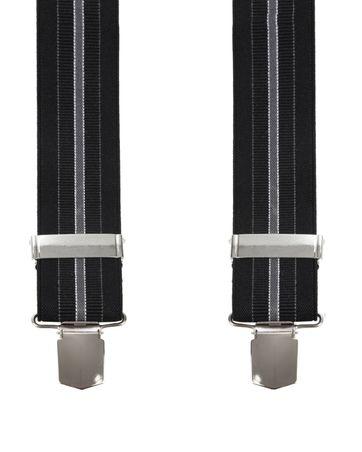 Suitable Hosenträger Streifen Schwarz