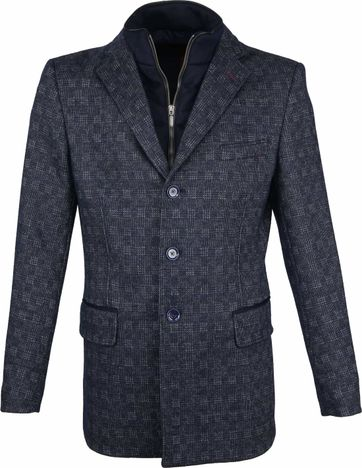 Suitable Jacke Anton Dunkelblau