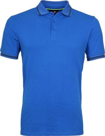 Suitable Jason Poloshirt Stretch Blau