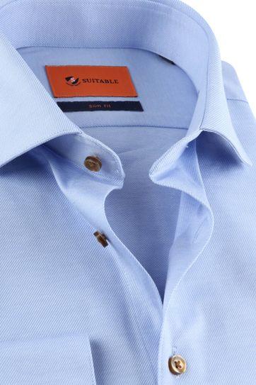 Suitable Jersey Hemd Blauw