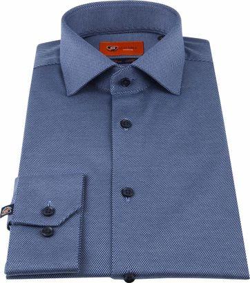 Suitable Jersey Shirt Pique Navy