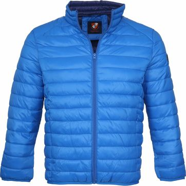 Suitable Jon PCK Jacket Blue