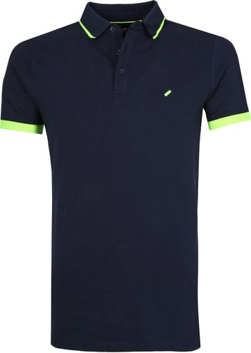 Suitable Jos Polo Navy
