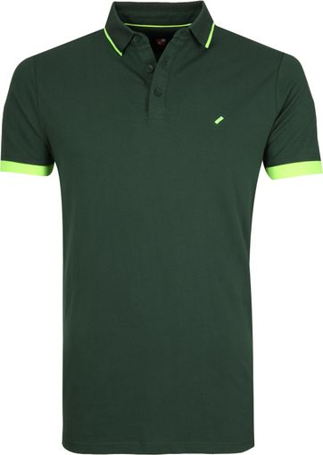 Suitable Jos Poloshirt Dark Green