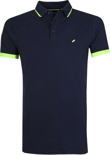 Suitable Jos Poloshirt Dunkelblau