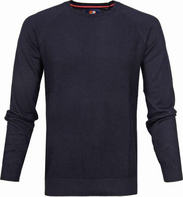 Suitable Katoen Sweater Ben Navy