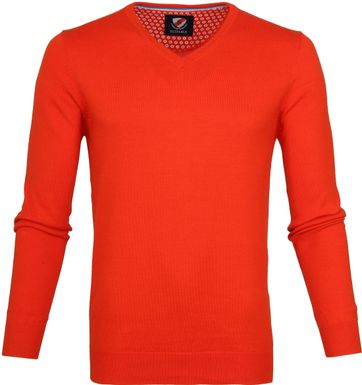 Suitable Katoen Vince Pullover Oranje